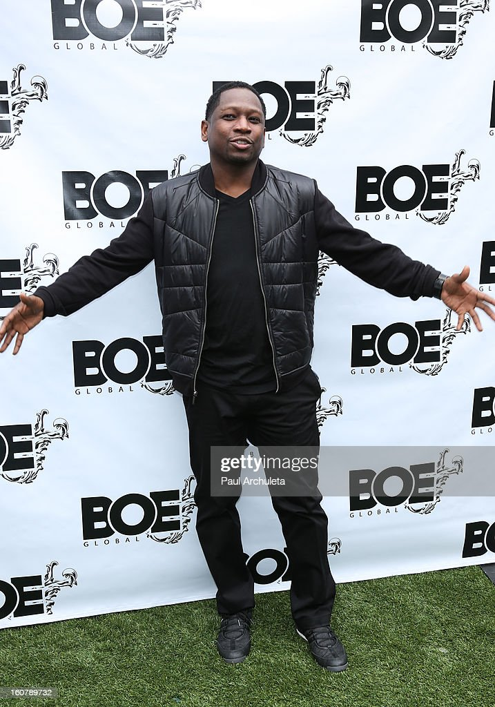 Actor / Comedian <a gi-track='captionPersonalityLinkClicked' href=/galleries/search?phrase=Guy+Torry&family=editorial&specificpeople=884121 ng-click='$event.stopPropagation()'>Guy Torry</a> attends the 1st Annual Grammy Producers Brunch at Xen Lounge on February 5, 2013 in Los Angeles, California.