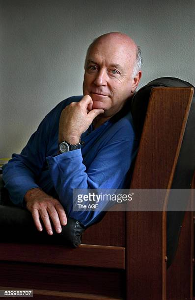 Actor / comedian John Clarke 28 November 2002 THE AGE Picture by NEIL NEWITT