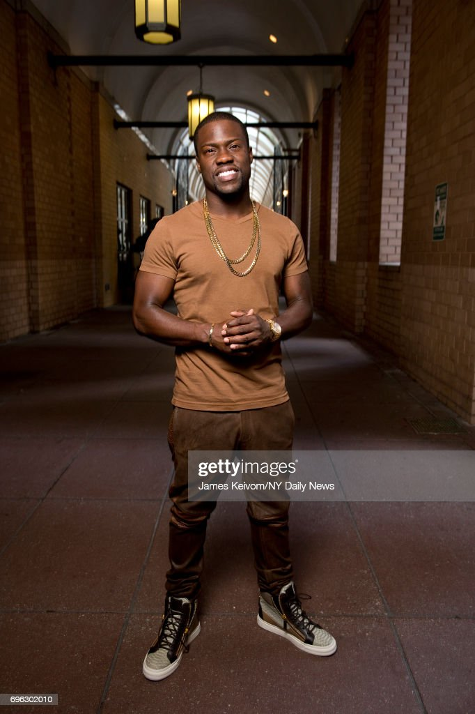 Actor, comedian Kevin Hart poses for NY Daily News on June 20, 2013, in New York City.