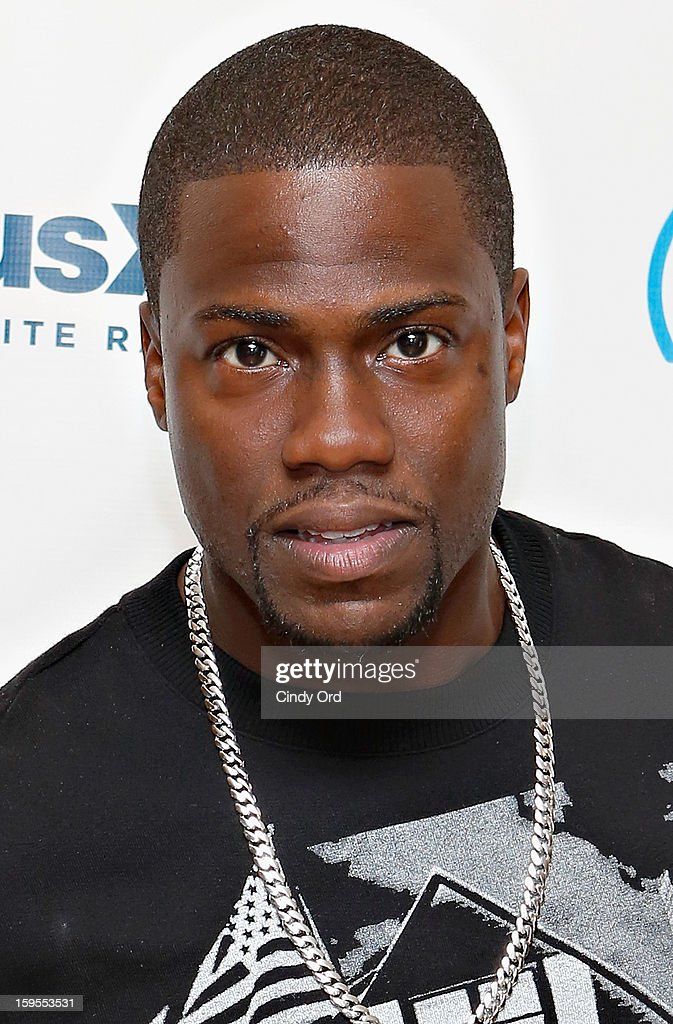 Actor/ comedian <a gi-track='captionPersonalityLinkClicked' href=/galleries/search?phrase=Kevin+Hart+-+Actor&family=editorial&specificpeople=4538838 ng-click='$event.stopPropagation()'>Kevin Hart</a> visits the SiriusXM Studios on January 15, 2013 in New York City.