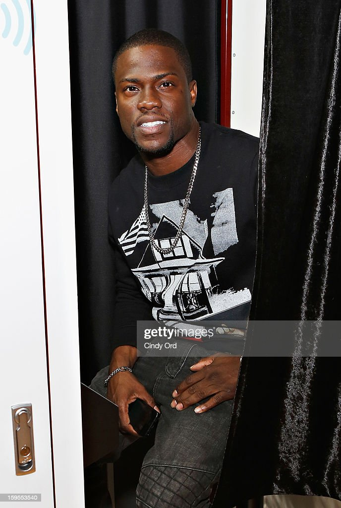Actor/ comedian Kevin Hart visits the SiriusXM Studios on January 15, 2013 in New York City.