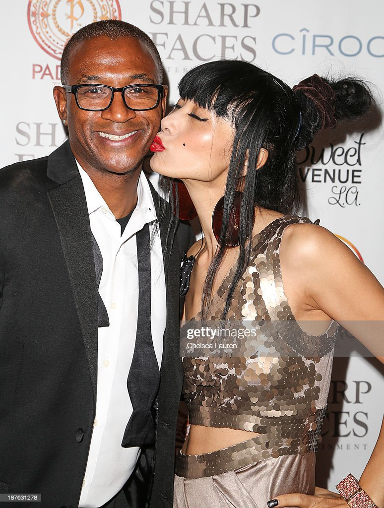 Actor / comedian <a gi-track='captionPersonalityLinkClicked' href=/galleries/search?phrase=Tommy+Davidson&family=editorial&specificpeople=619191 ng-click='$event.stopPropagation()'>Tommy Davidson</a> (L) and actress <a gi-track='captionPersonalityLinkClicked' href=/galleries/search?phrase=Bai+Ling&family=editorial&specificpeople=201459 ng-click='$event.stopPropagation()'>Bai Ling</a> attend <a gi-track='captionPersonalityLinkClicked' href=/galleries/search?phrase=Tommy+Davidson&family=editorial&specificpeople=619191 ng-click='$event.stopPropagation()'>Tommy Davidson</a>'s birthday celebration at H.O.M.E. on November 10, 2013 in Beverly Hills, California.