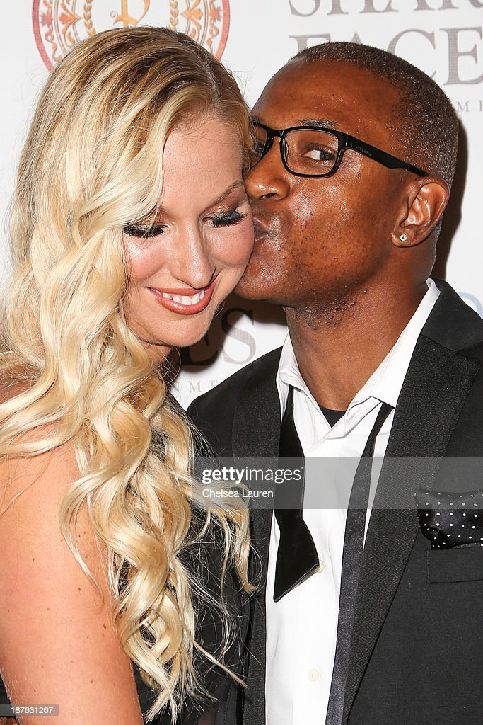 Actor / comedian <a gi-track='captionPersonalityLinkClicked' href=/galleries/search?phrase=Tommy+Davidson&family=editorial&specificpeople=619191 ng-click='$event.stopPropagation()'>Tommy Davidson</a> (R) attends his birthday celebration at H.O.M.E. on November 10, 2013 in Beverly Hills, California.