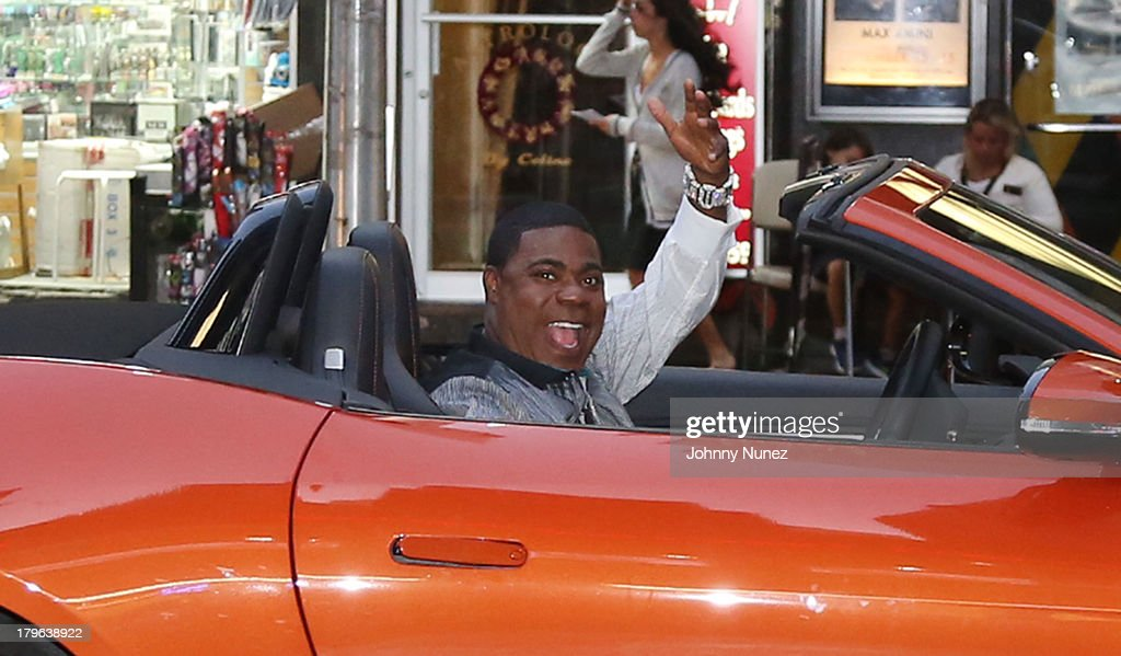 Actor/ comedian Tracy Morgan seen on the streets of Manhattan on September 5, 2013 in New York City.