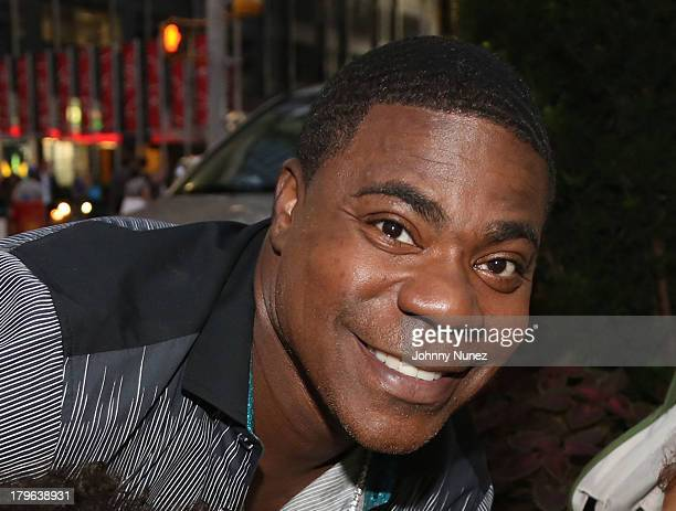 Actor/ comedian Tracy Morgan seen on the streets of Manhattan on September 5 2013 in New York City