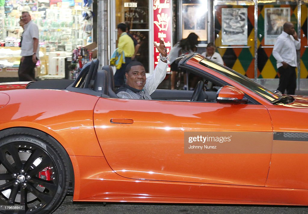 Actor/ comedian <a gi-track='captionPersonalityLinkClicked' href=/galleries/search?phrase=Tracy+Morgan&family=editorial&specificpeople=182428 ng-click='$event.stopPropagation()'>Tracy Morgan</a> seen on the streets of Manhattan on September 5, 2013 in New York City.