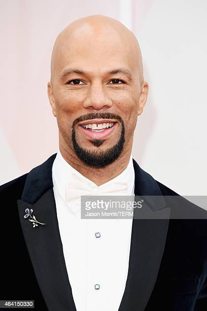 Actor Common attends the 87th Annual Academy Awards at Hollywood Highland Center on February 22 2015 in Hollywood California