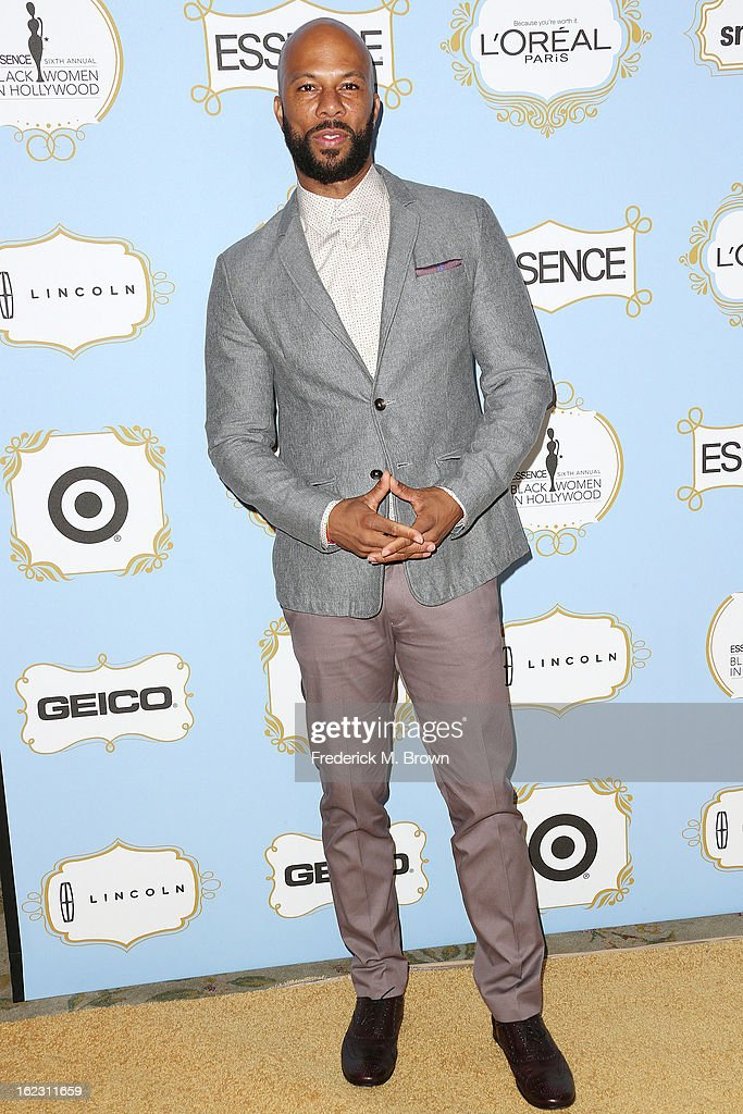 Actor Common attends the Sixth Annual ESSENCE Black Women In Hollywood Awards Luncheon at the Beverly Hills Hotel on February 21, 2013 in Beverly Hills, California.