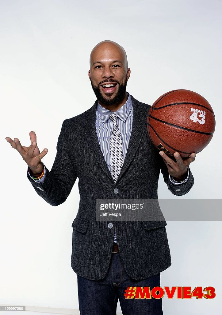 Actor Common poses for a portrait during Relativity Media's 'Movie 43' Los Angeles premiere at TCL Chinese Theatre on January 23, 2013 in Hollywood, California.