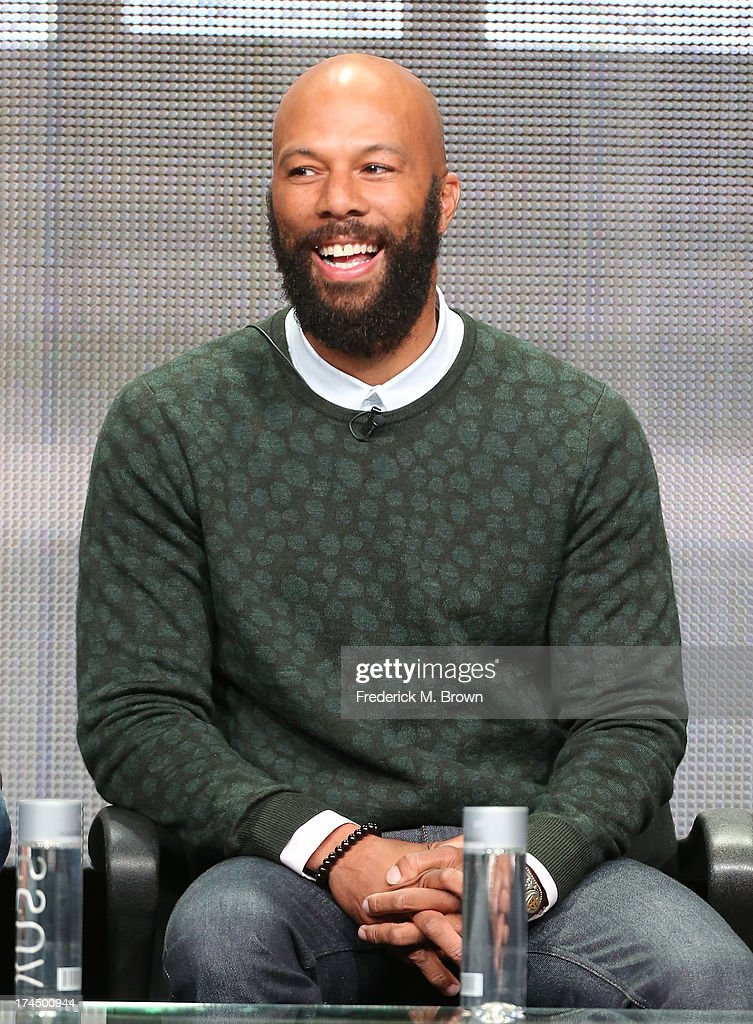 Actor Common speaks onstage during the 'Hell On Wheels' panel discussion at the AMC portion of the 2013 Summer Television Critics Association tour - Day 3 at the Beverly Hilton Hotel on July 26, 2013 in Beverly Hills, California.