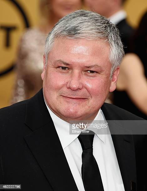 Actor Conleth Hill attends the 21st Annual Screen Actors Guild Awards at The Shrine Auditorium on January 25 2015 in Los Angeles California