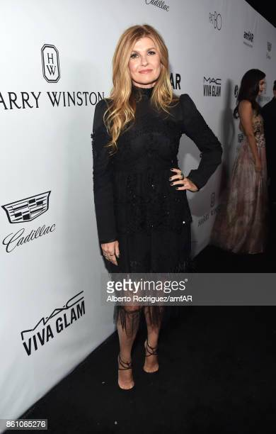 Actor Connie Britton attends the amfAR Gala Los Angeles 2017 at Ron Burkle's Green Acres Estate on October 13 2017 in Beverly Hills California