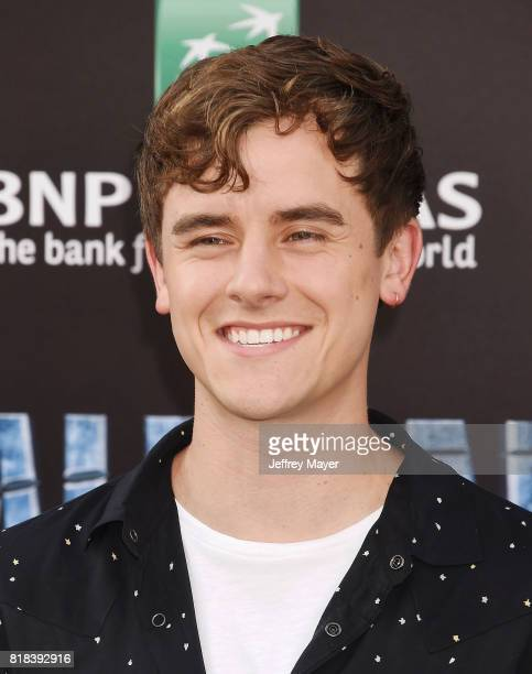 Actor Connor Franta arrives at the Premiere Of EuropaCorp And STX Entertainment's 'Valerian And The City Of A Thousand Planets' at TCL Chinese...