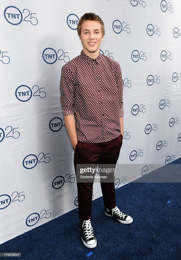 Actor Connor Jessup attends TNT 25TH Anniversary Party during Turner Broadcasting's 2013 TCA Summer Tour at The Beverly Hilton Hotel on July 24, 2013 in Beverly Hills, California.