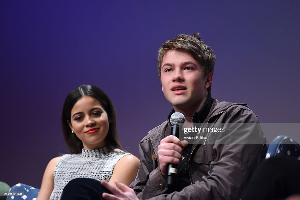 Actor Connor Jessup speaks on stage during 'American Crime' event during aTVfest 2016 presented by SCAD on February 5, 2016 in Atlanta, Georgia.
