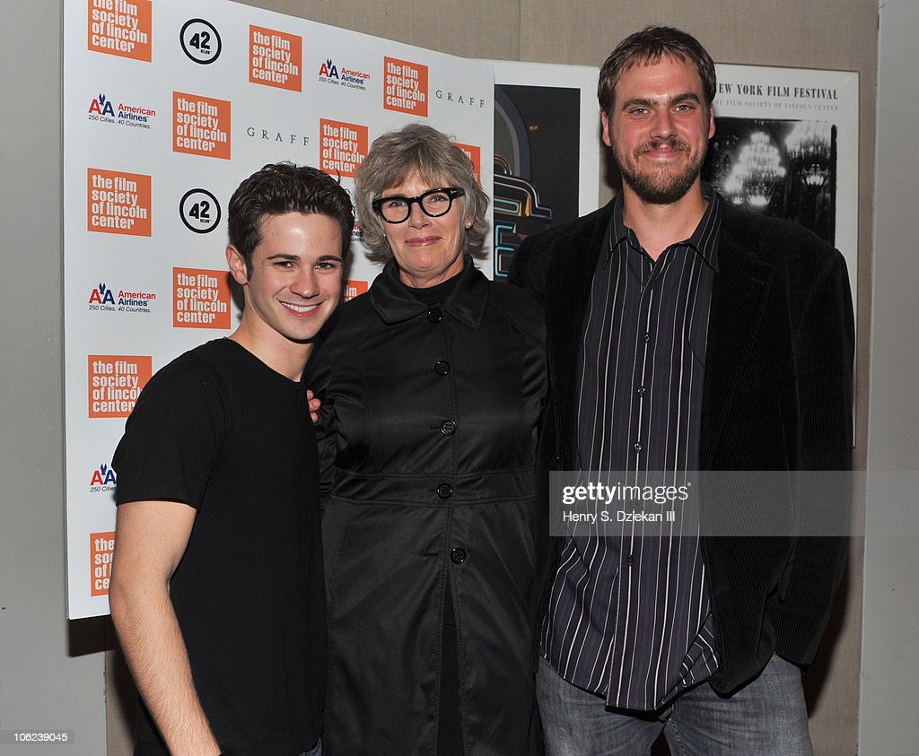 Actor Connor Paolo, actress Kelly McGillis and director Jim Mickle attend the 'Stake Land' premiere at The Film Society of Lincoln Center on October 27, 2010 in New York City.