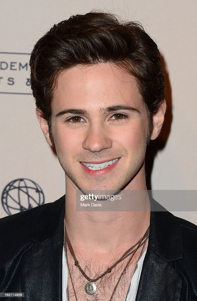 Actor <a gi-track='captionPersonalityLinkClicked' href=/galleries/search?phrase=Connor+Paolo&family=editorial&specificpeople=4452064 ng-click='$event.stopPropagation()'>Connor Paolo</a> arrives at the Academy of Television Arts & Sciences Presents An Evening With 'Revenge' at the Leonard H. Goldenson Theater held at the Academy of Television Arts & Sciences on March 4, 2013 in North Hollywood, California.