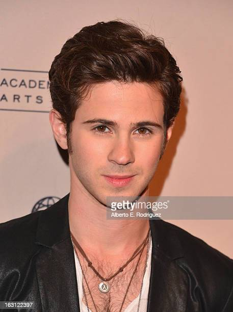 Actor Connor Paolo arrives to the Academy of Television Arts and Sciences' An Evening with 'Revenge' at Leonard H Goldenson Theatre on March 4 2013...