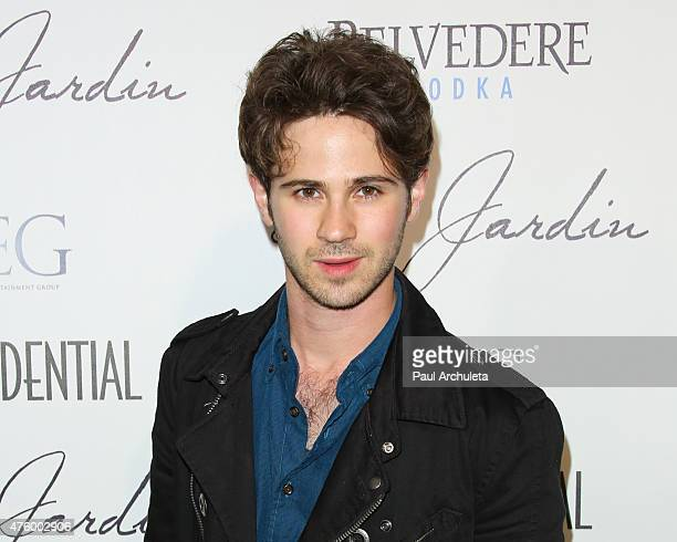 Actor Connor Paolo attends the Grand Opening Party of the Le Jardin Outdoor Lounge at Le Jardin on June 4 2015 in Hollywood California