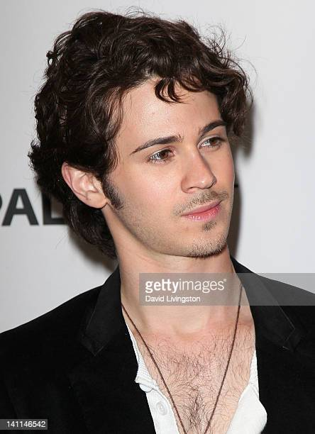 Actor Connor Paolo attends The Paley Center for Media's PaleyFest 2012 honoring 'Revenge' at Saban Theatre on March 11 2012 in Beverly Hills...