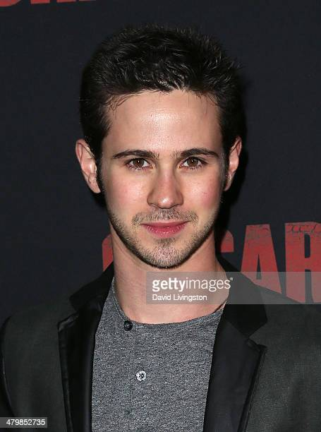 Actor Connor Paolo attends the premiere of Pantelion Films and Participant Media's 'Cesar Chavez' at TCL Chinese Theatre on March 20 2014 in...