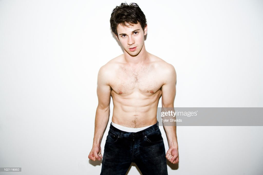 Actor Connor Paolo poses for a portrait session on June 11, 2010, New York, NY.