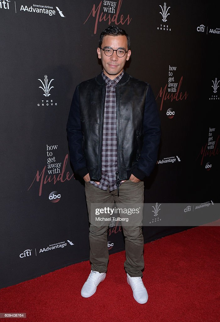 Premiere of abcs actor conrad ricamora attends the premiere of season 3 of abcs how to get away ccuart Images