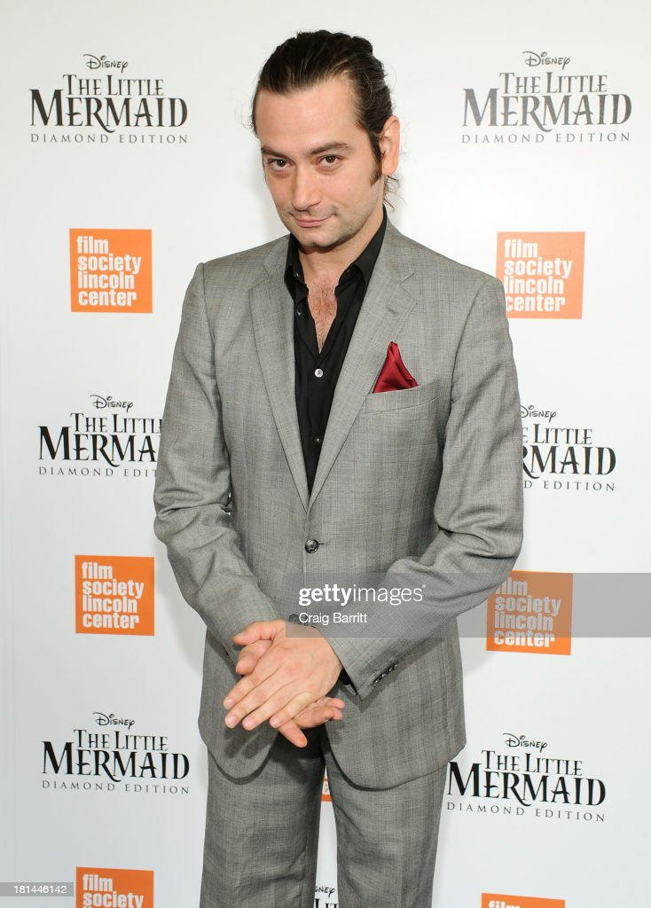 Actor <a gi-track='captionPersonalityLinkClicked' href=/galleries/search?phrase=Constantine+Maroulis&family=editorial&specificpeople=208875 ng-click='$event.stopPropagation()'>Constantine Maroulis</a> attends Disney's The Little Mermaid special screening at Walter Reade Theater on September 21, 2013 in New York City.