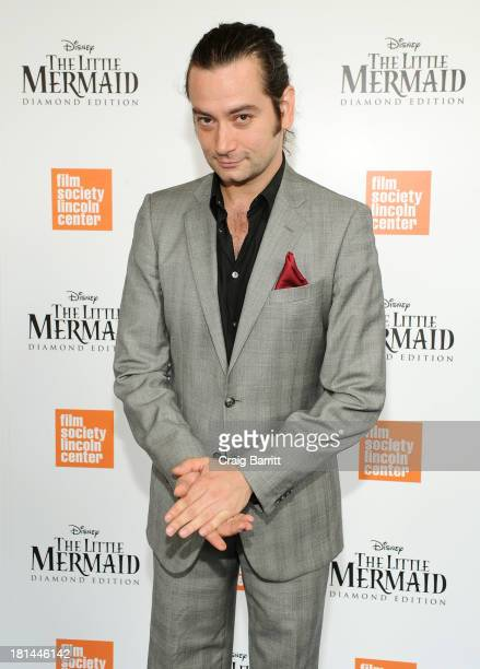 Actor Constantine Maroulis attends Disney's The Little Mermaid special screening at Walter Reade Theater on September 21 2013 in New York City