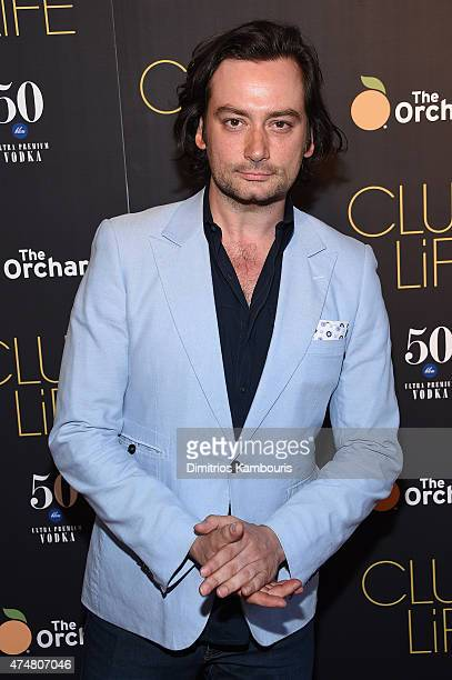 Actor Constantine Maroulis attends the 'Club Life' New York Screening at Regal Cinemas Union Square on May 26 2015 in New York City