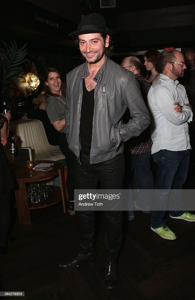 Actor <a gi-track='captionPersonalityLinkClicked' href=/galleries/search?phrase=Constantine+Maroulis&family=editorial&specificpeople=208875 ng-click='$event.stopPropagation()'>Constantine Maroulis</a> attends the FairVote Benefit hosted by Krist Novoselic and Rock Paper Photo at No.8 on April 11, 2014 in New York City.