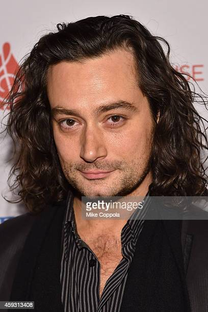 Actor Constantine Maroulis attends the TJ Martell Foundation's 11th annual New York World Tour of Wine on November 20 2014 in New York City