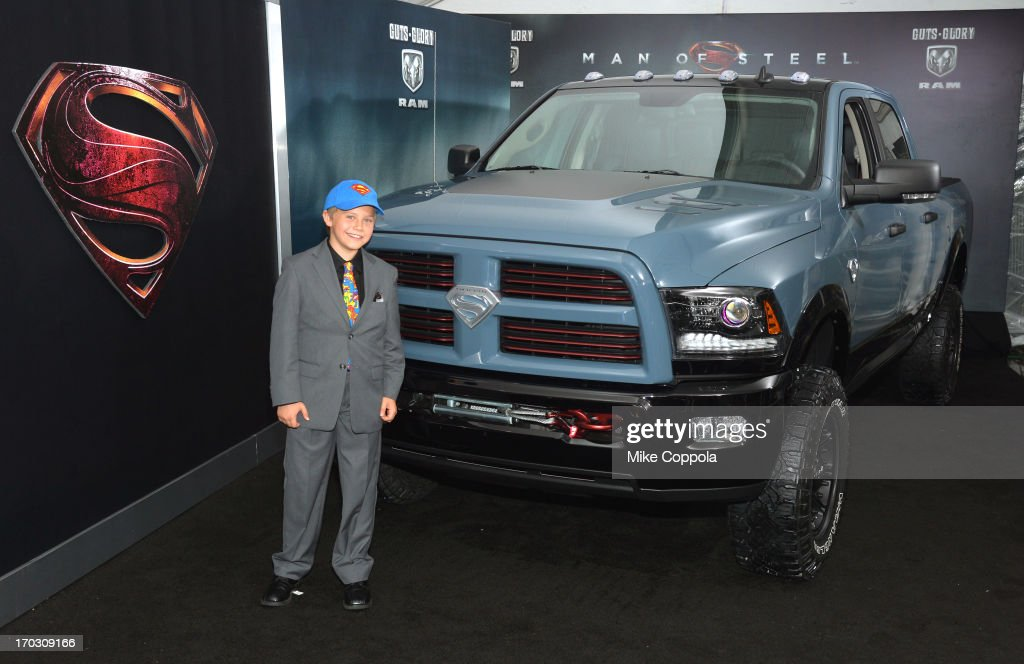 Actor Cooper Timberline attends the 'Man of Steel' NYC premiere sponsored by RAM at Alice Tully Hall at Lincoln Center on June 10, 2013 in New York City.