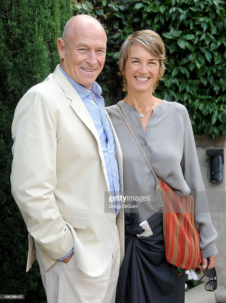 Actor <a gi-track='captionPersonalityLinkClicked' href=/galleries/search?phrase=Corbin+Bernsen&family=editorial&specificpeople=211428 ng-click='$event.stopPropagation()'>Corbin Bernsen</a> and <a gi-track='captionPersonalityLinkClicked' href=/galleries/search?phrase=Amanda+Pays&family=editorial&specificpeople=653961 ng-click='$event.stopPropagation()'>Amanda Pays</a> arrive at The Rape Foundation's Annual Brunch at Ron Burkle's Green Acres Estate on September 28, 2014 in Beverly Hills, California.