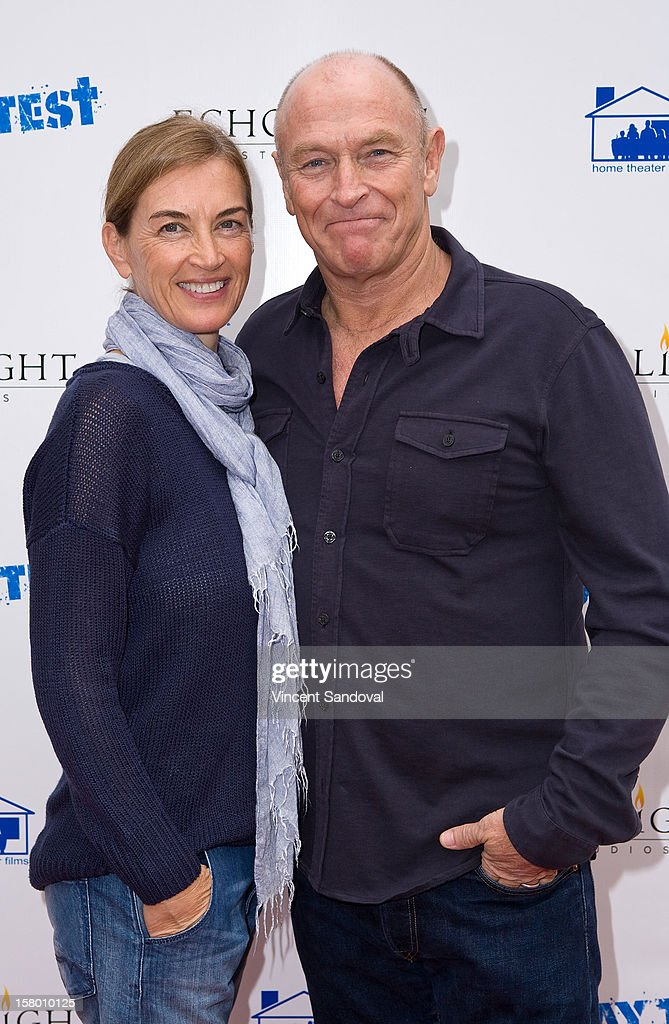 Actor <a gi-track='captionPersonalityLinkClicked' href=/galleries/search?phrase=Corbin+Bernsen&family=editorial&specificpeople=211428 ng-click='$event.stopPropagation()'>Corbin Bernsen</a> (R) and wife <a gi-track='captionPersonalityLinkClicked' href=/galleries/search?phrase=Amanda+Pays&family=editorial&specificpeople=653961 ng-click='$event.stopPropagation()'>Amanda Pays</a> attend the Los Angeles Premiere of '3 Day Test' at Downtown Independent Theatre on December 8, 2012 in Los Angeles, California.