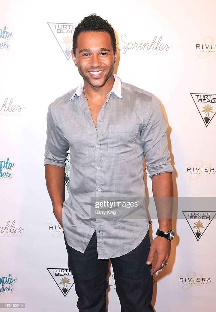 Actor <a gi-track='captionPersonalityLinkClicked' href=/galleries/search?phrase=Corbin+Bleu&family=editorial&specificpeople=651888 ng-click='$event.stopPropagation()'>Corbin Bleu</a> arrives at Blake Michael's 18th Birthday on Riviera 31 on August 9, 2014 in Beverly Hills, California.