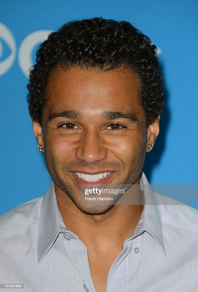 Actor <a gi-track='captionPersonalityLinkClicked' href=/galleries/search?phrase=Corbin+Bleu&family=editorial&specificpeople=651888 ng-click='$event.stopPropagation()'>Corbin Bleu</a> arrives at CBS 2012 fall premiere party held at Greystone Manor Supperclub on September 18, 2012 in West Hollywood, California.