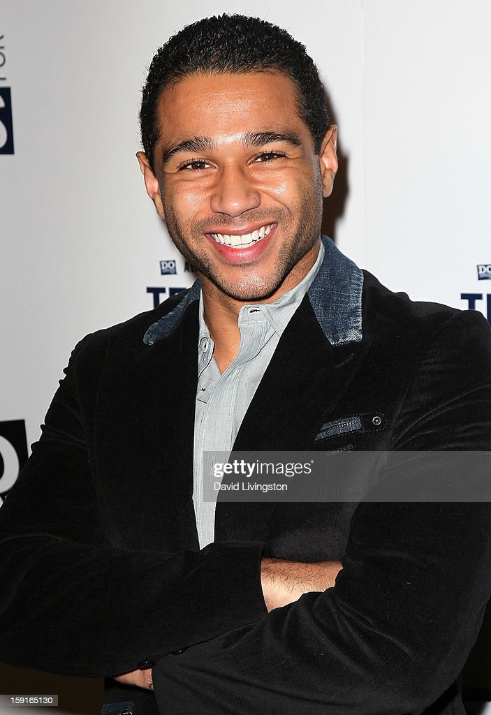 Actor Corbin Bleu attends DoSomething.org and Aeropostale celebrating the launch of the 6th Annual 'Teens For Jeans' campaign hosted by Chloe Moretz at Palihouse on January 8, 2013 in West Hollywood, California.