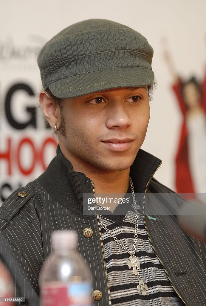 Actor Corbin Bleu attends the 'High School Musical 3 Senior Year' Press Conference on May 2 2008 in Salt Lake City Utah