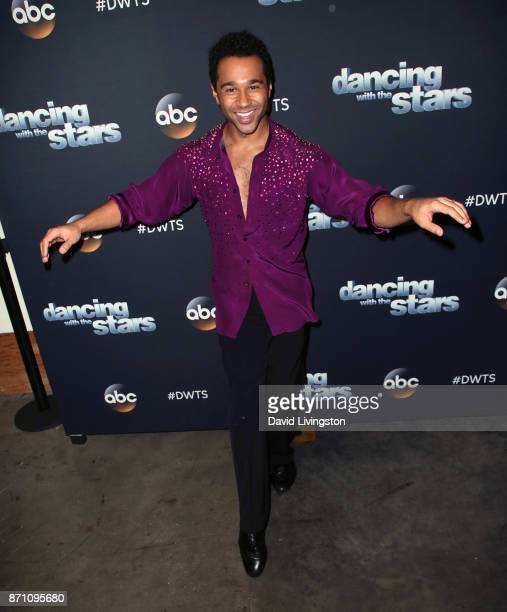 Actor Corbin Bleu poses at 'Dancing with the Stars' season 25 at CBS Televison City on November 6 2017 in Los Angeles California