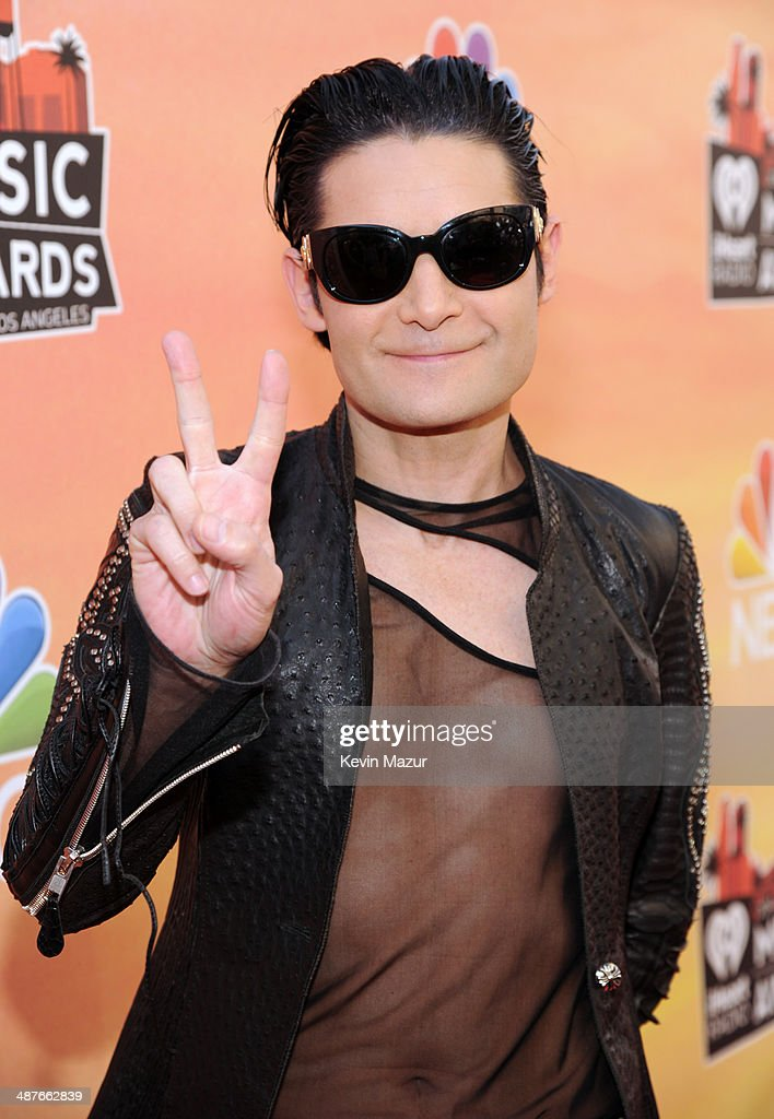 Actor <a gi-track='captionPersonalityLinkClicked' href=/galleries/search?phrase=Corey+Feldman&family=editorial&specificpeople=175941 ng-click='$event.stopPropagation()'>Corey Feldman</a> attends the 2014 iHeartRadio Music Awards held at The Shrine Auditorium on May 1, 2014 in Los Angeles, California. iHeartRadio Music Awards are being broadcast live on NBC.