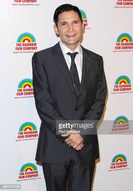 Actor Corey Feldman attends the Premiere of 'The M Word' at DGA Theater on April 2 2014 in Los Angeles California