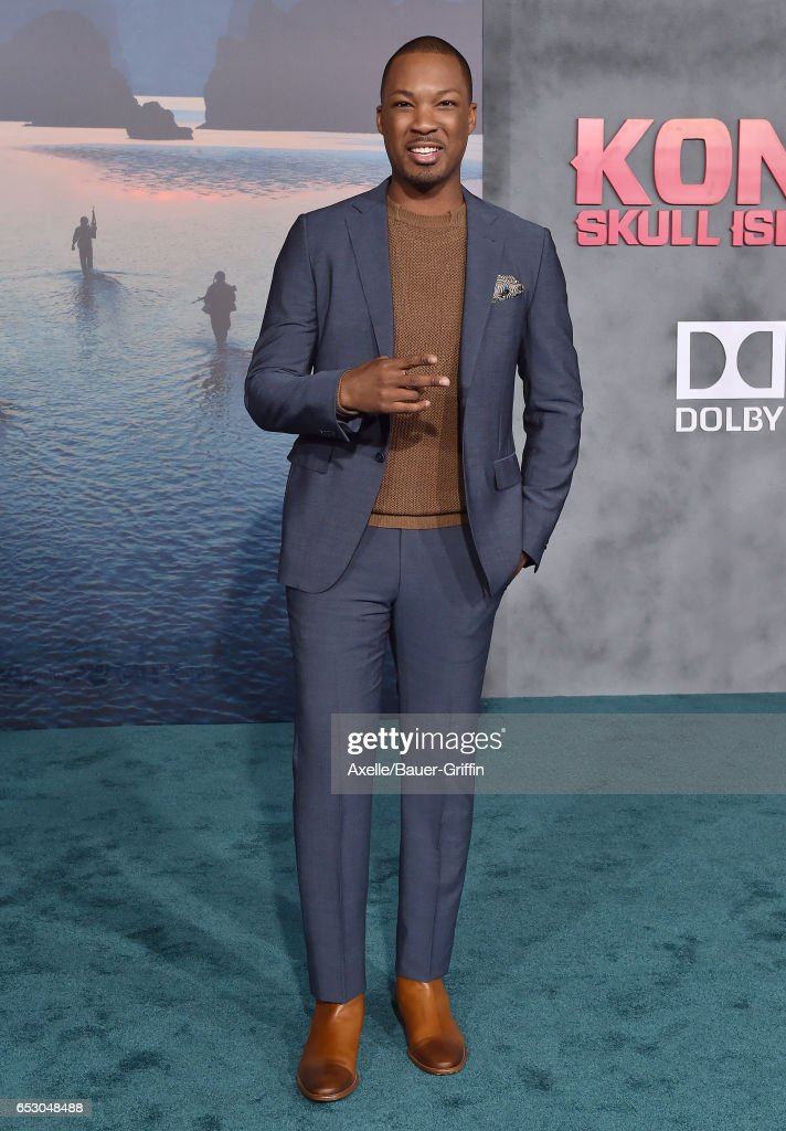 Actor Corey Hawkins arrives at the Los Angeles Premiere of 'Kong: Skull Island' at Dolby Theatre on March 8, 2017 in Hollywood, California.