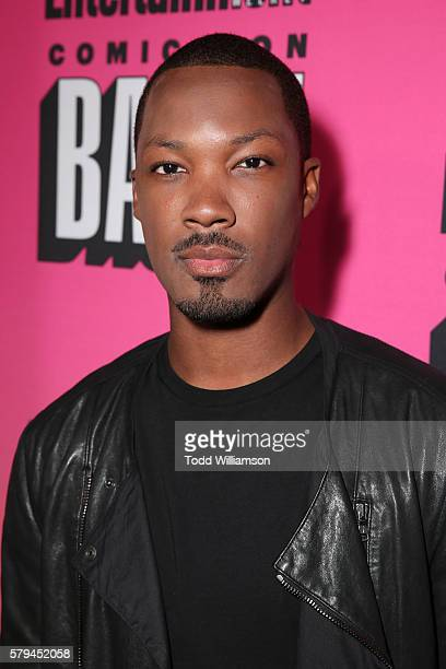 Actor Corey Hawkins attends Entertainment Weekly's ComicCon Bash held at Float Hard Rock Hotel San Diego on July 23 2016 in San Diego California...