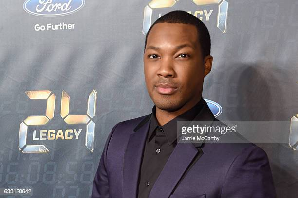Actor Corey Hawkins attends the '24 LEGACY' Premiere Event at Spring Studios on January 30 2017 in New York City