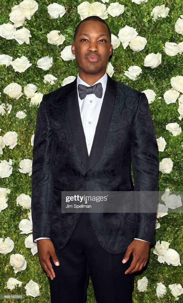 Actor Corey Hawkins attends the 71st Annual Tony Awards at Radio City Music Hall on June 11, 2017 in New York City.