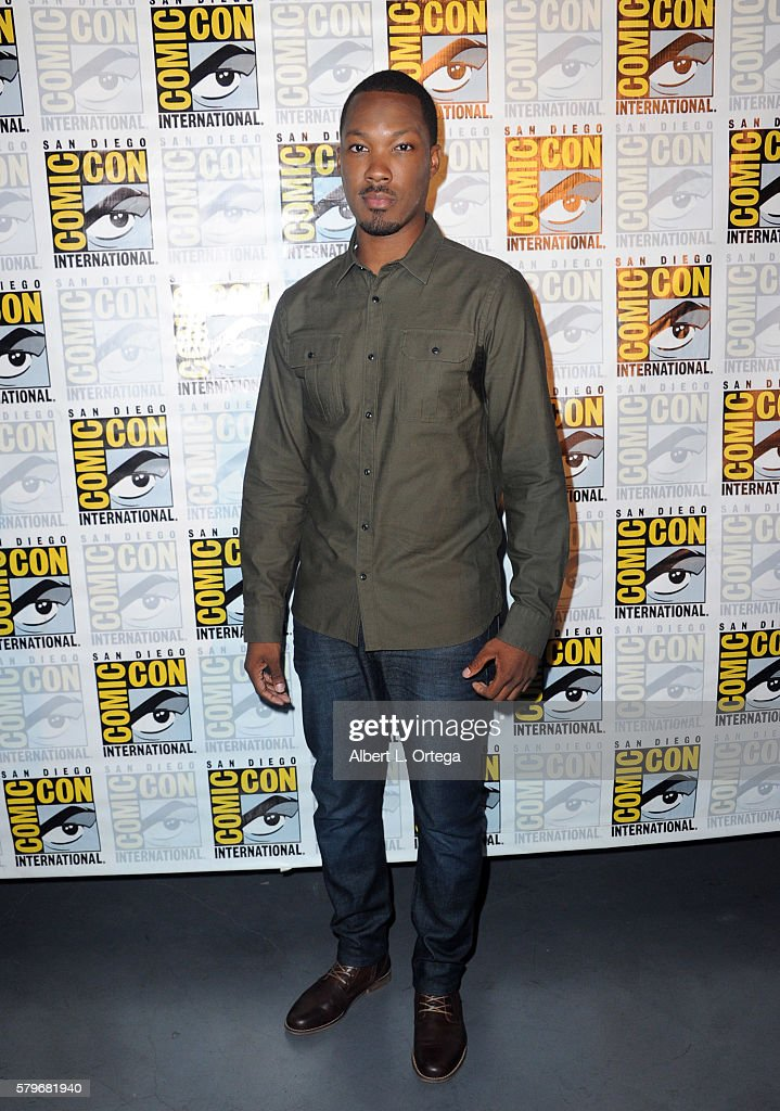 Actor Corey Hawkins attends the Fox Action Showcase 'Prison Break' And '24 Legacy' during ComicCon International 2016 at San Diego Convention Center...