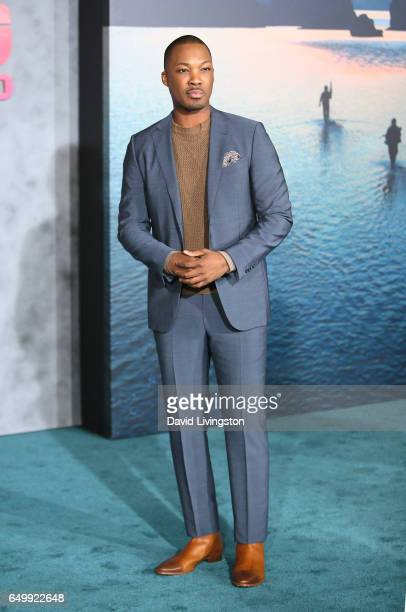 Actor Corey Hawkins attends the premiere of Warner Bros Pictures' 'Kong Skull Island' at Dolby Theatre on March 8 2017 in Hollywood California