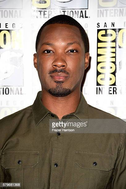 Actor Corey Hawkins attends the press line for the Fox Action Showcase with 'Prison Break' and '24 Legacy' at Hilton Bayfront on July 24 2016 in San...