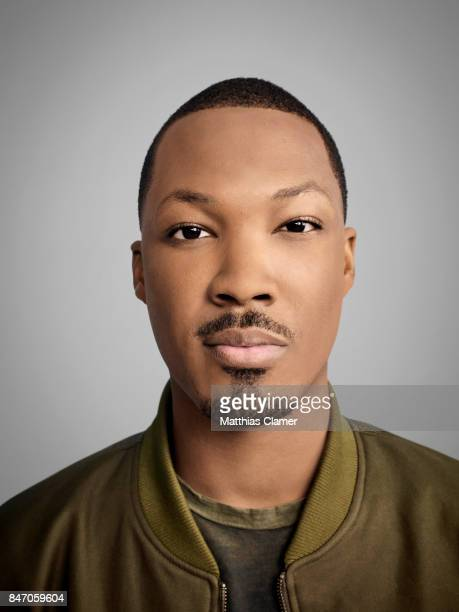 Actor Corey Hawkins from '24 Legacy' is photographed for Entertainment Weekly Magazine on July 23 2016 at Comic Con in the Hard Rock Hotel in San...